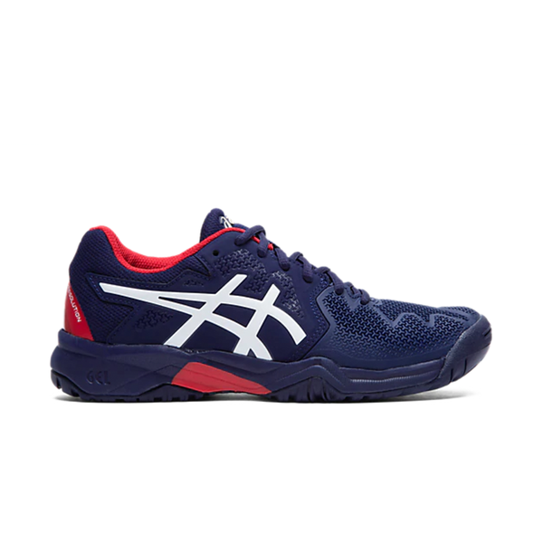 Asics Gel-Resolution 8 GS (Junior) - Peacoat/Classic Red