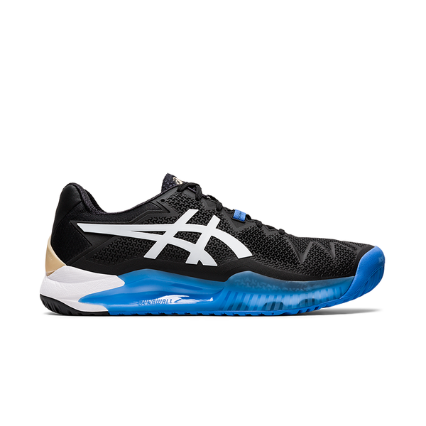 Asics Gel-Resolution 8 2E WIDE (Men's) - Black/White