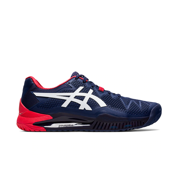 Asics Gel-Resolution 8 (Men's) - Peacoat/White