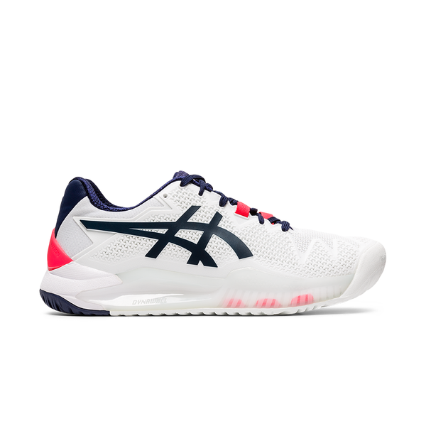 Asics Gel-Resolution 8 (Women's) - White/Peacoat