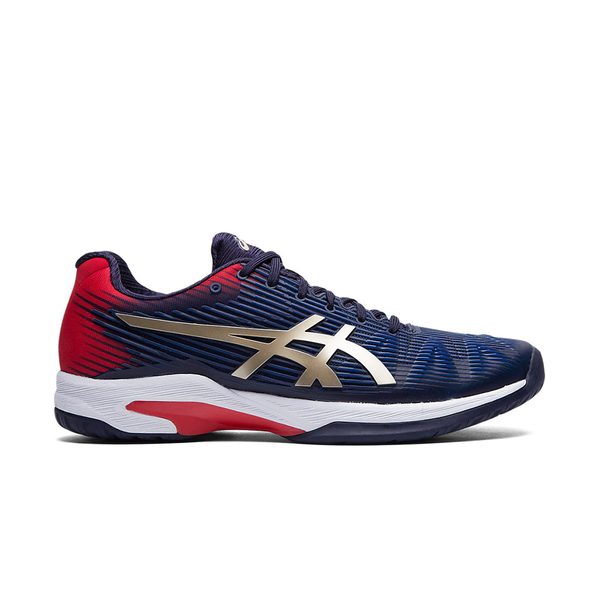 Asics Solution Speed FF (Men's) - Peacoat/Champagne