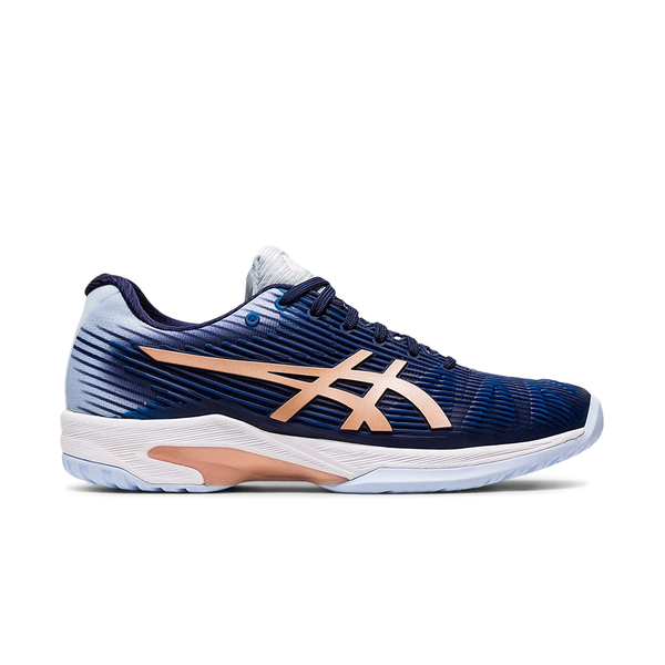 Asics Solution Speed FF (Women's) - Peacoat/Rose Gold
