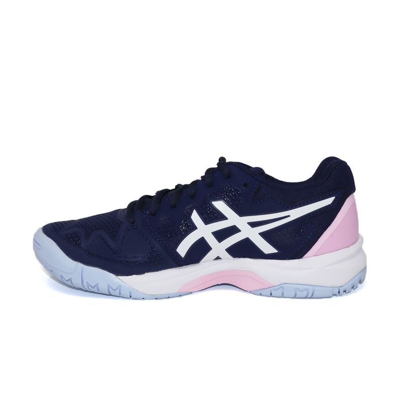 Asics Gel-Resolution 8 GS (Junior) - Peacoat/Cotton Candy-Footwear-online tennis store canada