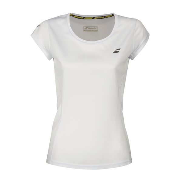 Babolat Core Flag Club Tee (Girl's) - White