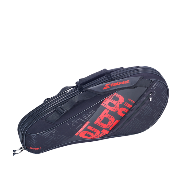 Babolat Expandable Team Tennis Racquet Bag (4-9 Pack) - Black/Red