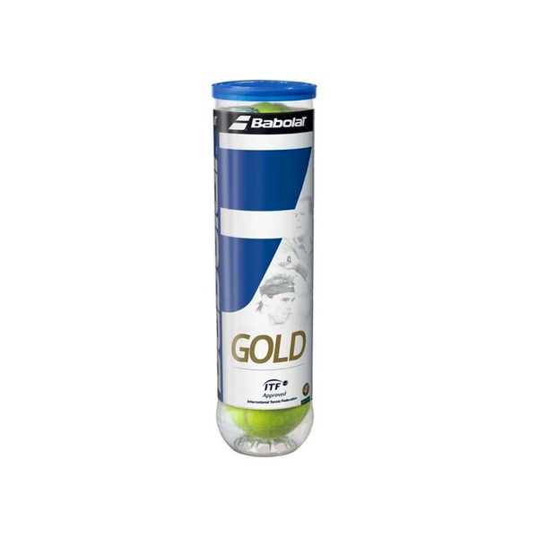 Babolat Gold Tennis Ball - Individual Can (4 Balls)