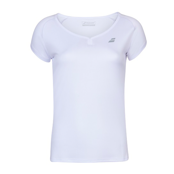 Babolat Play Cap Sleeve Top (Girl's) - White