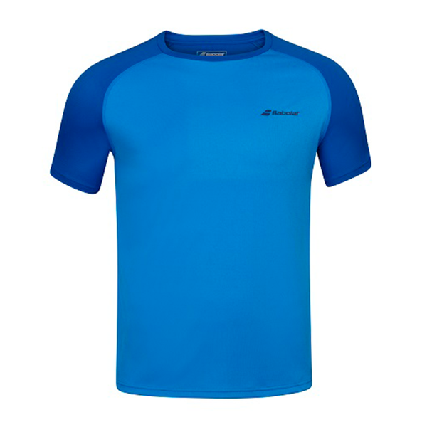 Babolat Play Crew Neck Tee (Boy's) - Blue