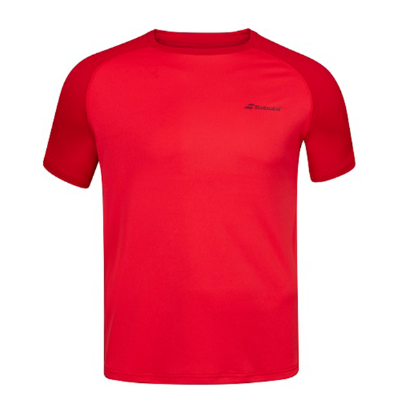 Babolat Play Crew Neck Tee (Boy's) - Red