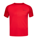 Babolat Play Crew Neck Tee (Men's) - Red