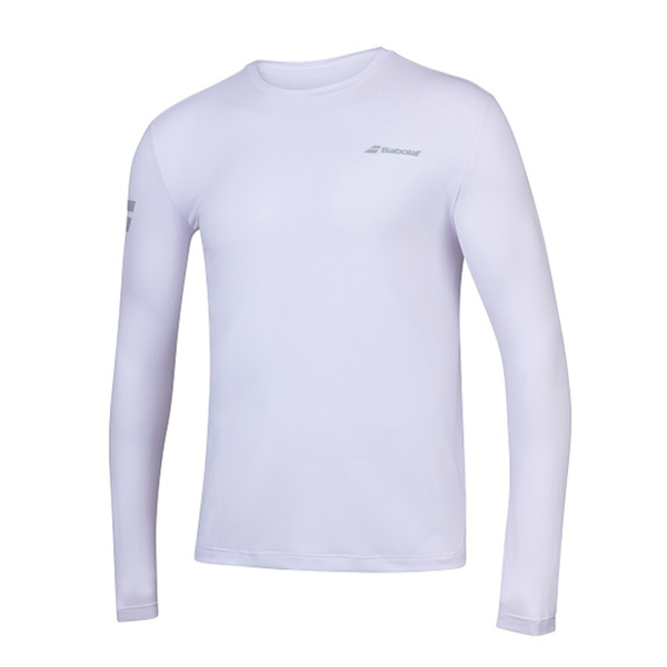 Babolat Play LS Tee (Men's) - White