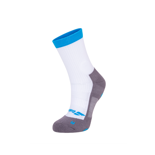 Babolat Pro 360 Socks (Men's) - White/Blue