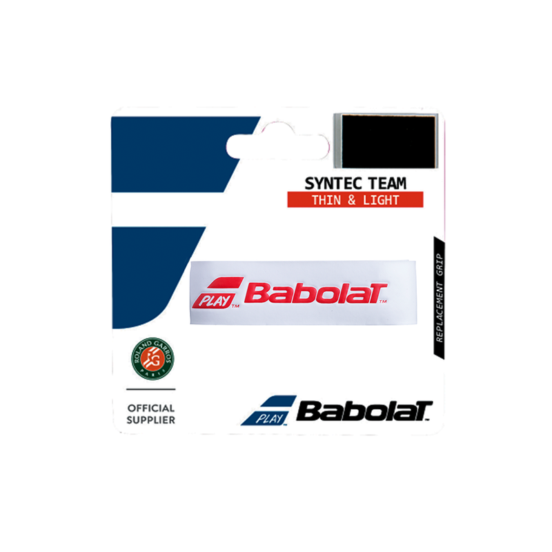 Babolat Syntec Team Replacement Grip - White/Red