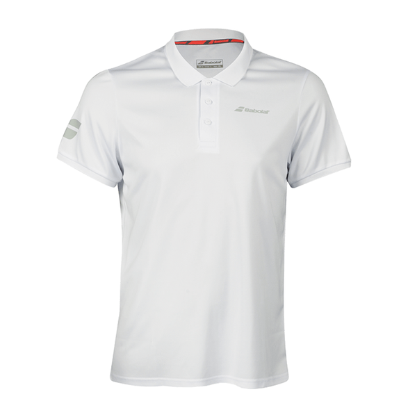 Babolat Core Club Polo (Men's) - White-Tops-online tennis store canada