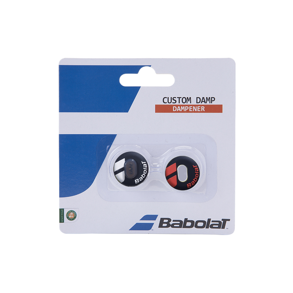Babolat Custom Damp 2-Pack - Black/Red