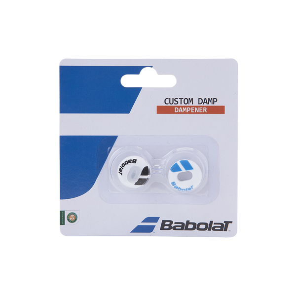 Babolat Custom Damp 2-Pack - White/Blue