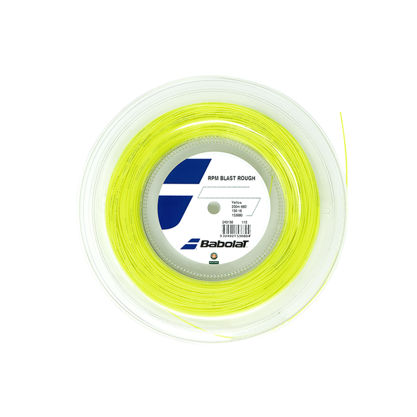 Babolat RPM Blast Rough 16 Reel (200M) - Yellow-Tennis Strings-online tennis store canada
