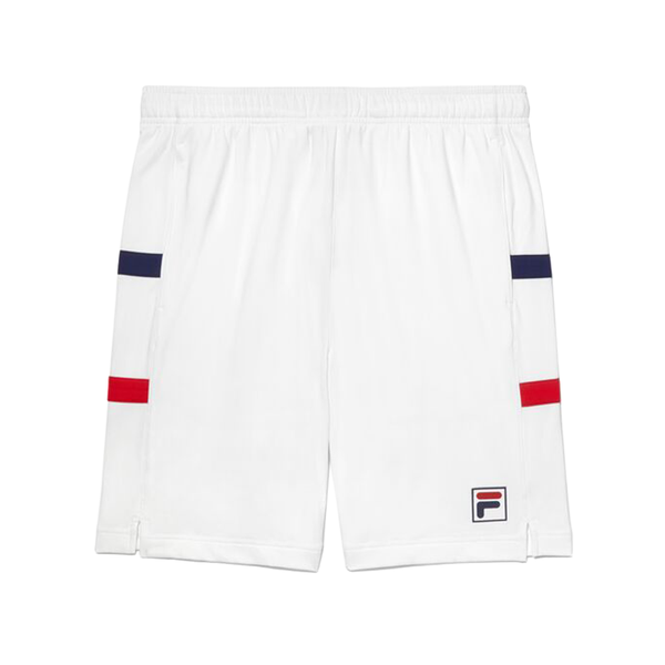 Fila Heritage Tennis Short (Men's) - White/Navy/Red