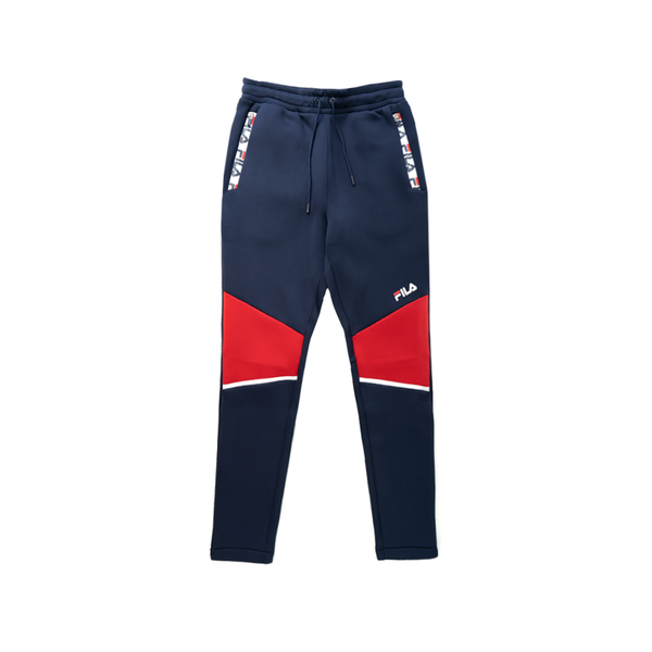 Fila Rocca Tech Pant (Men's) - Peacoat/Red/White
