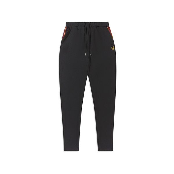Fred Perry Taped Track Pant (Men's) - Black