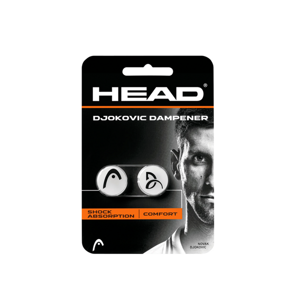 Head Djokovic Vibration Dampener - White/Black