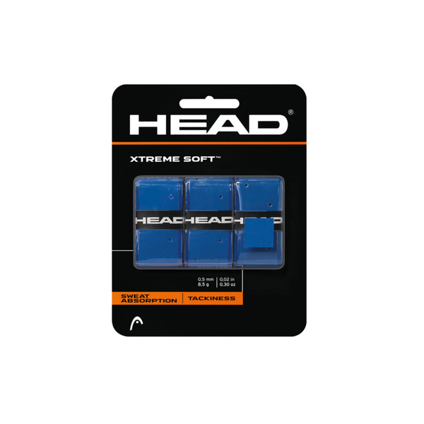 Head Xtreme Soft Overgrip (3 pack) - Blue