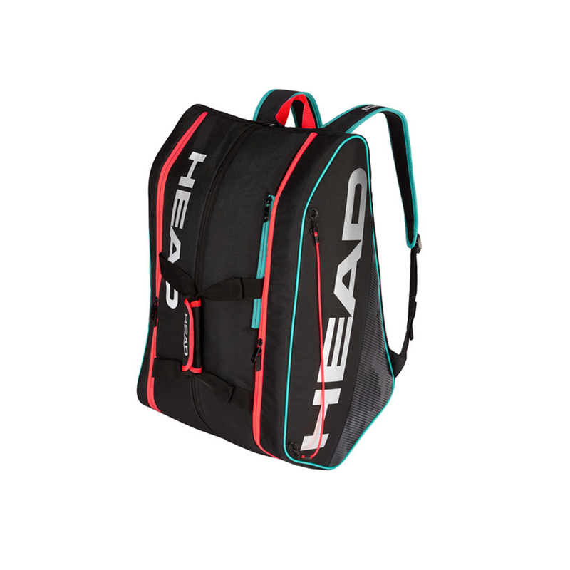 Head Tour Supercombi Pickleball Bag - Black/Teal