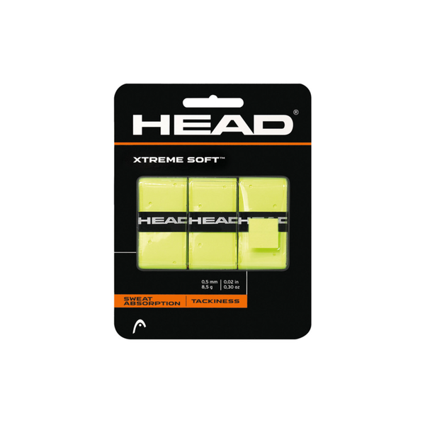 HEAD Xtreme Soft Overgrip (3 pack) - Yellow