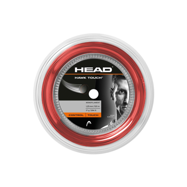 Head Hawk Touch 17g Reel (120M) - Red-Tennis Strings-online tennis store canada