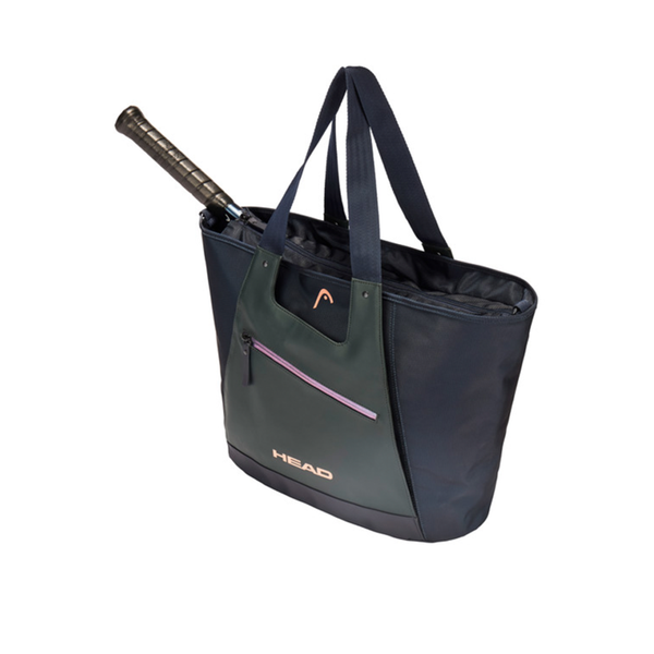 Head Women Tote Bag - Navy/Grey