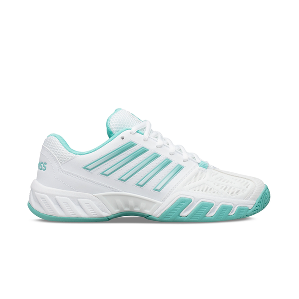 K-Swiss Bigshot Light 3 (Women's) - White/Aruba Blue