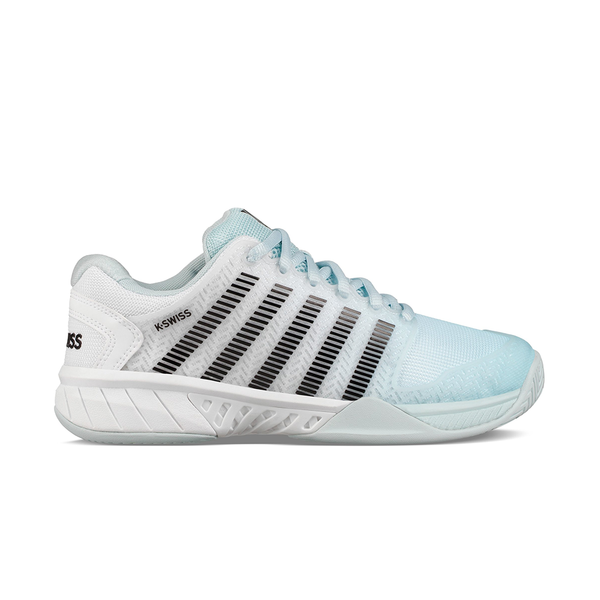 K-Swiss Hypercourt Express (Women's) - Pastel Blue/Black/White (Available Size: 9.5)