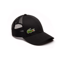 Lacoste Sport Mesh Panel Tennis Cap (Men's) - Black