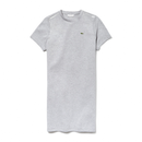 Lacoste Sport Tennis T-shirt Dress (Women's) - Grey Chine/Light Grey