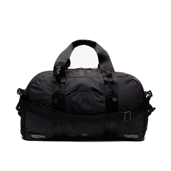 Lacoste Match Point Detachable Shoulder Strap Sports Bag - Black-Bags-online tennis store canada