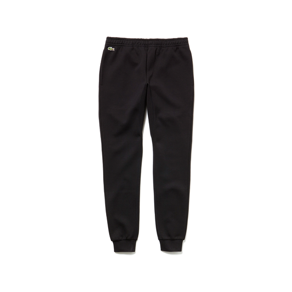 Lacoste Sport Tennis Fleece Trackpants (Men's) - Black-Bottoms-online tennis store canada