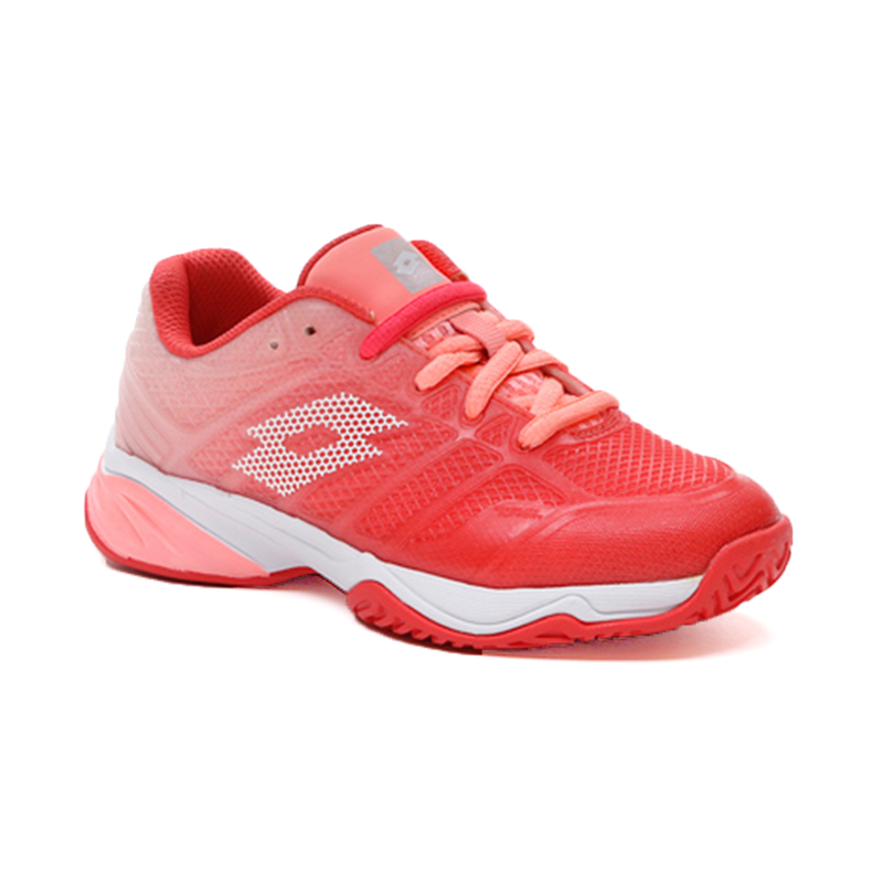 Lotto Mirage 300 II All Court (Junior's) - Red Fluo/White/Sweet Rose