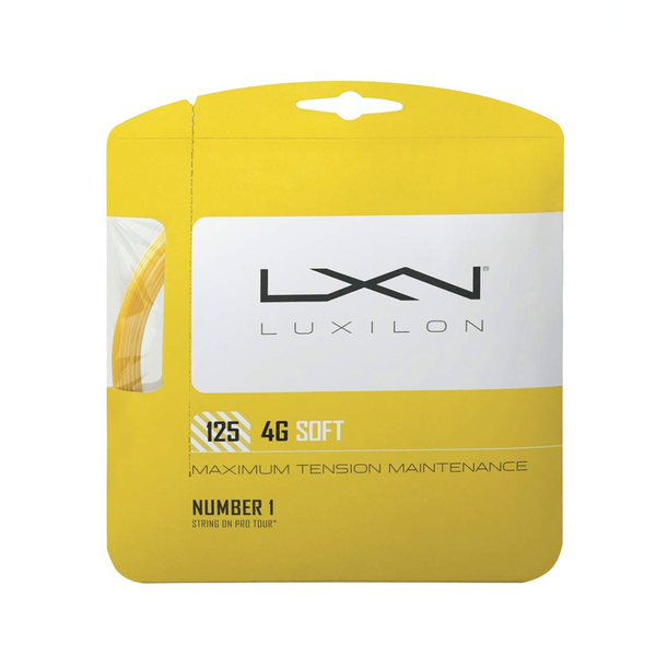 Luxilon 4G Soft 125 Pack - Gold