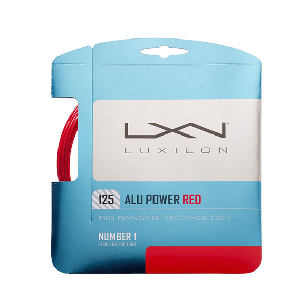 Luxilon Alu Power 125 Pack - Red