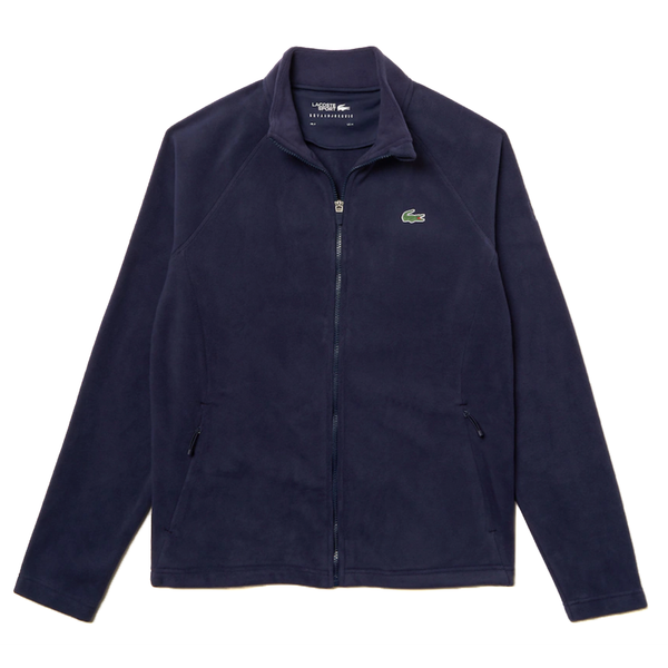 Lacoste SPORT Novak Djokovic Tech Fleece Jacket (Men's) - Navy Blue-Tops- Canada Online Tennis Store Shop