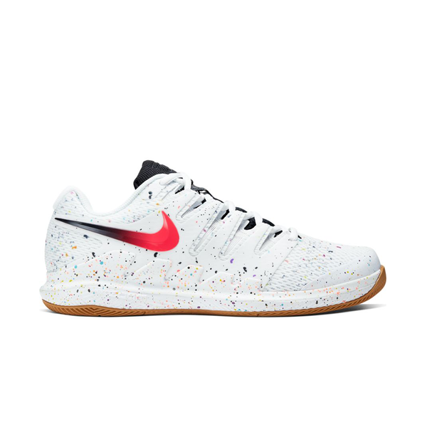 Nike Air Zoom Vapor X (Men's) - White/Laser Crimson/Oracle Aqua/Off Noir
