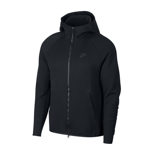 Nike Sportswear Tech Fleece Jacket (Men's) - Black/Black-Tops-online tennis store canada