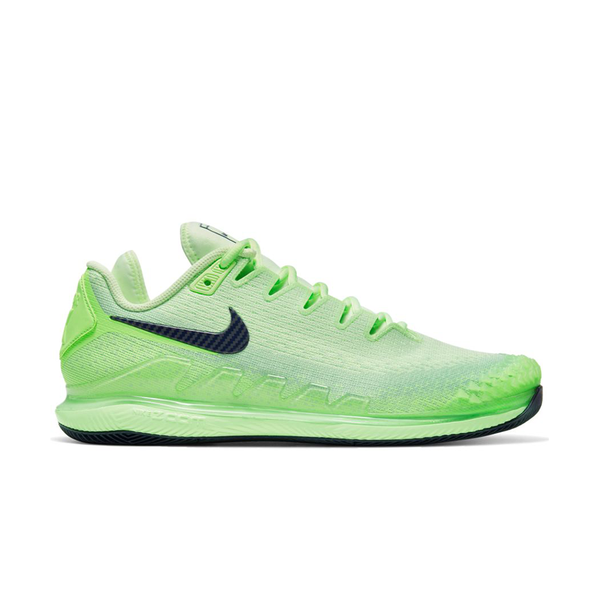 Nike Air Zoom Vapor X Knit (Men's) - Ghost Green/Blackened Blue/Barely Volt