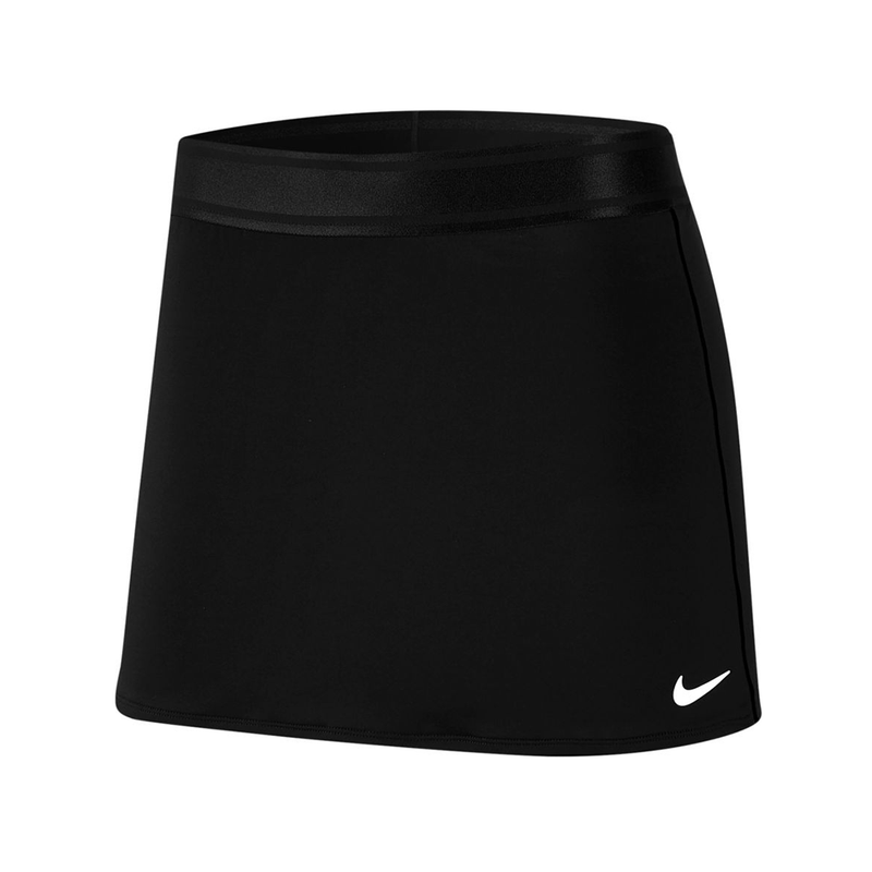 Nike Court Fitted Tennis Skirt (Women's) - Black/Black