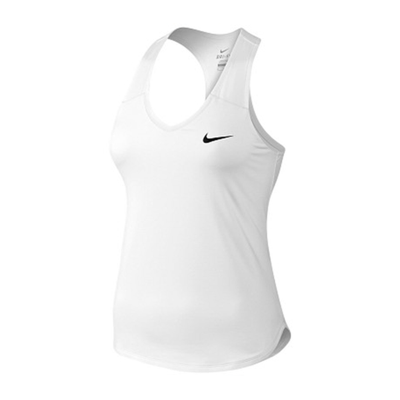 Nike Court Team Pure Tank Top (Women's) - White