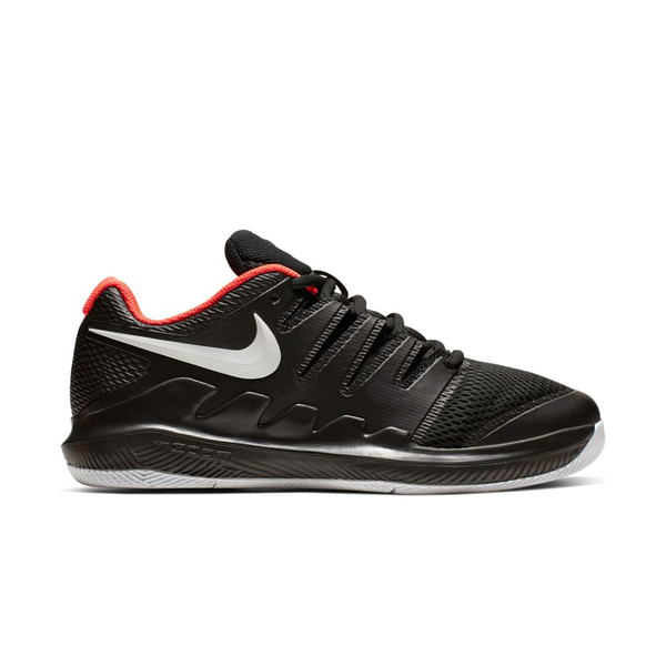 Nike Court JR Vapor X (Junior) - Black/White/Bright Crimson-Footwear-online tennis store canada