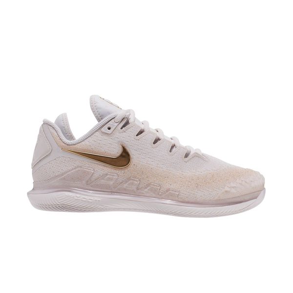 Nike Air Zoom Vapor X Knit (Women's) - Phantom/Metallic Gold