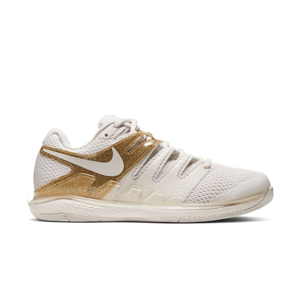Nike Court Air Zoom Vapor X (Women's) - Phantom/Metallic Gold-Footwear-online tennis store canada