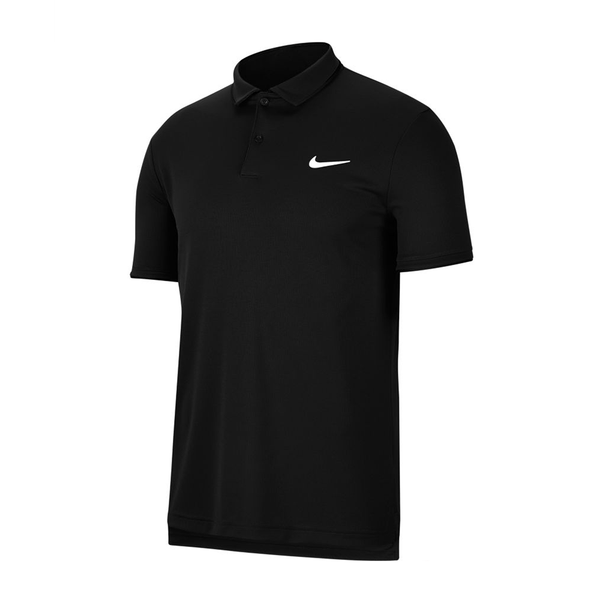 Nike Court Dri-Fit Tennis Polo (Men's) - Black