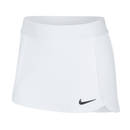 Nike Court Stretchy Tennis Skirt (Girl's) - White/Black